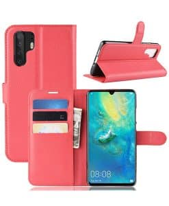 Huawei P30 Pro Wallet Leather Case