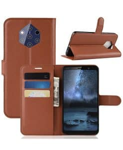 Nokia 9 Pureview Wallet Leather Case