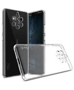 Nokia 9 Pureview IMAK Silikoni Suojakuori
