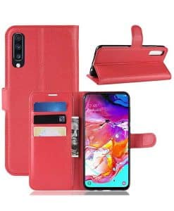 Samsung Galaxy A70 Wallet Leather Case