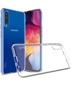Samsung Galaxy A70 IMAK Silikoni Suojakuori