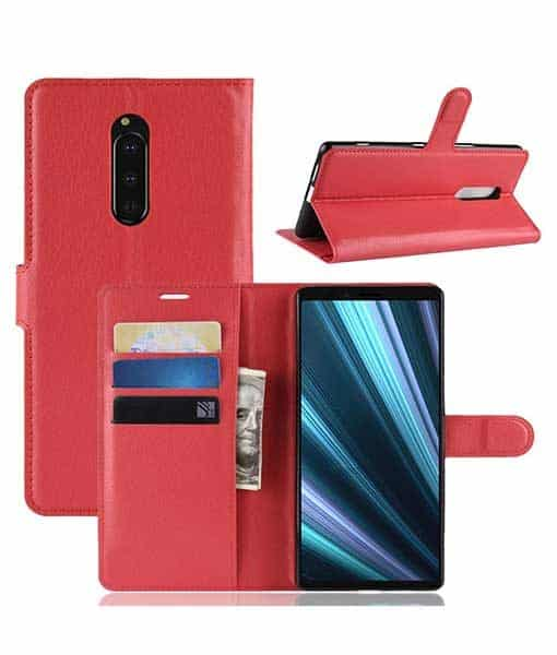Sony Xperia 1 Wallet Leather Case
