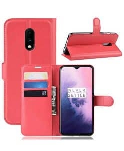 OnePlus 7 Wallet Leather Case