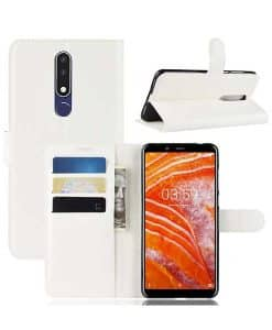 Nokia 3.1 Plus Wallet Leather Case