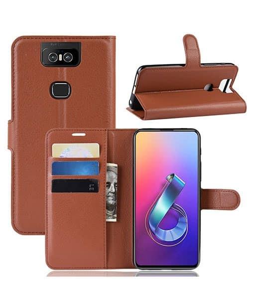 Asus Zenfone 6 Wallet Leather Case
