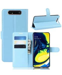 Samsung Galaxy A80 Wallet Leather Case