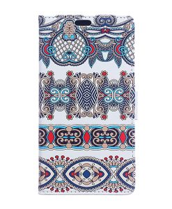 Samsung Galaxy Xcover 4S Pattern Leather Case