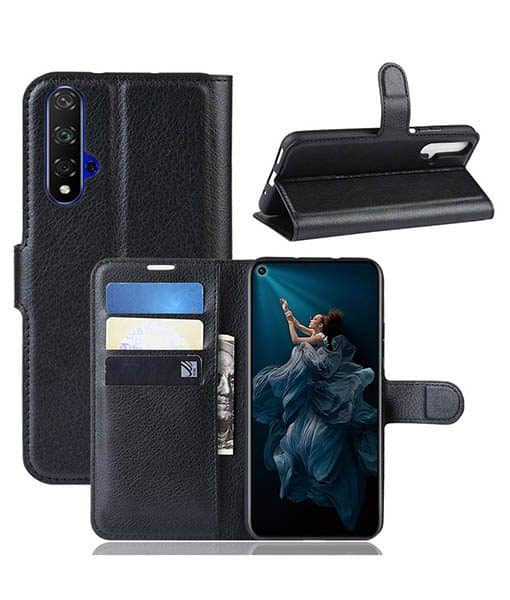 Honor 20 Wallet Leather Case