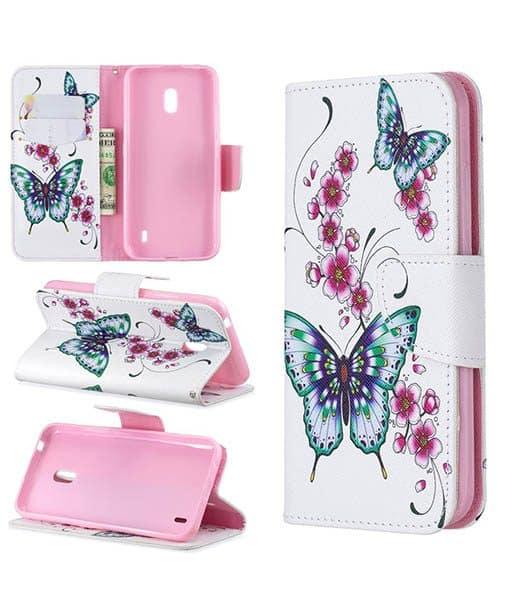 Nokia 2.2 Kuviollinen Wallet Case