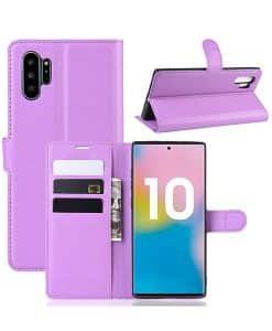 Samsung Galaxy Note 10 Plus Wallet Leather Case