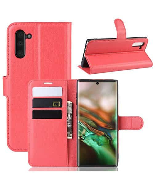 Samsung Galaxy Note 10 Wallet Leather Case