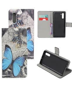 Samsung Galaxy Note 10 Kuviollinen Wallet Case