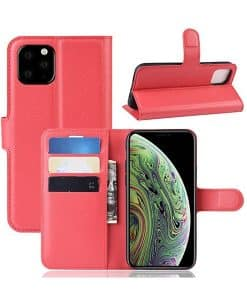 Apple iPhone 11 Pro Wallet Leather Case