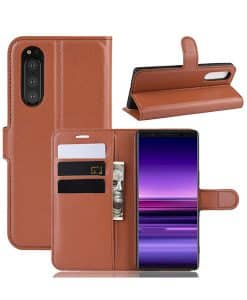Sony Xperia 5 Wallet Leather Case