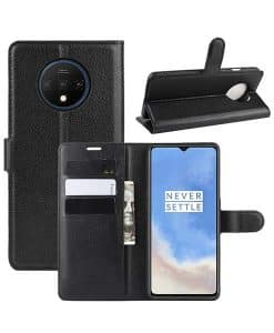 OnePlus 7T Wallet Leather Case