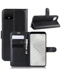 Google Pixel 4 Wallet Leather Case