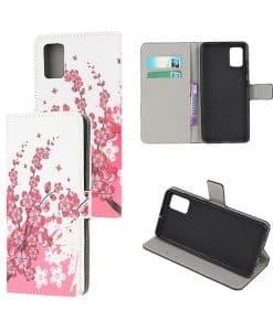 Samsung Galaxy A71 Kuviollinen Wallet Case