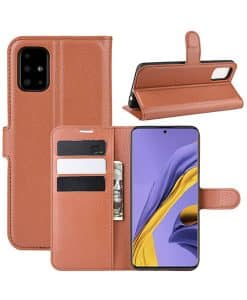 Samsung Galaxy A51 Wallet Leather Case