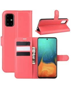 Samsung Galaxy A71 Wallet Leather Case