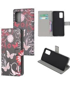 Samsung Galaxy S20+ Kuviollinen Wallet Case