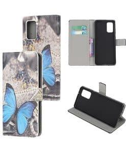 Samsung Galaxy S20 Kuviollinen Wallet Case