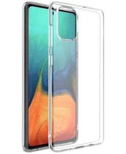 Samsung Galaxy A71 IMAK Silikoni Suojakuori