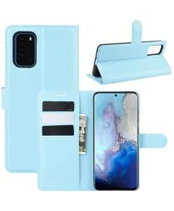 Samsung Galaxy S20 Wallet Leather Case