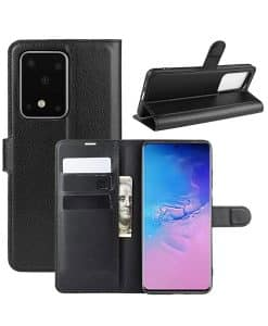 Samsung Galaxy S20 Ultra Wallet Leather Case