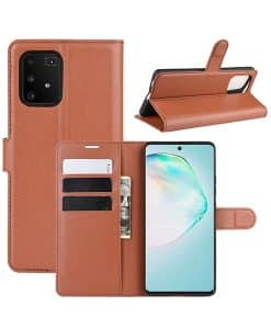Samsung Galaxy S10 Lite Wallet Leather Case