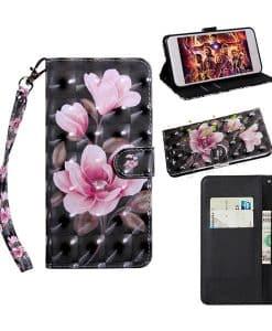 Motorola Moto G8 Plus Bling Wallet Case