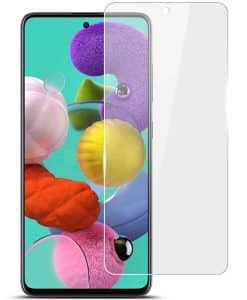Samsung Galaxy A51 IMAK Clear LCD Suojakalvo