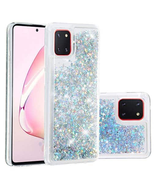 Samsung Galaxy Note 10 Lite Glitter Silikonikuori