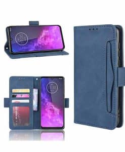 Motorola One Zoom Wallet Leather Case