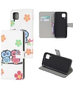 Huawei P40 Lite Kuviollinen Wallet Case