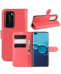 Huawei P40 Wallet Leather Case