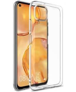 Huawei P40 Lite IMAK Silikoni Suojakuori