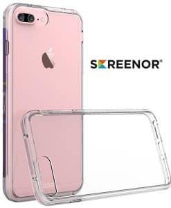 iPhone SE (2020)/6/7/8 SCREENOR Bumper Läpinäkyvä