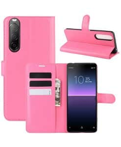 Sony Xperia 10 II Wallet Leather Case