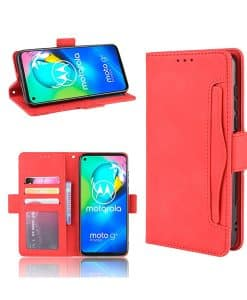 Motorola Moto G8 Power Wallet Leather Case