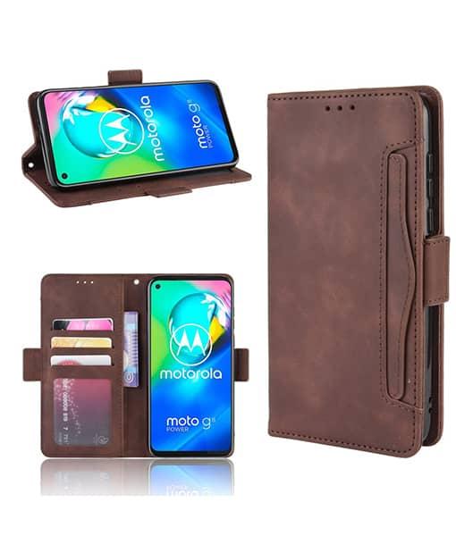Motorola Moto G8 Power Wallet Leather Case