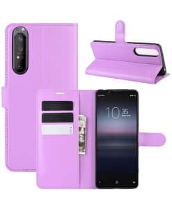 Sony Xperia 1 II Wallet Leather Case