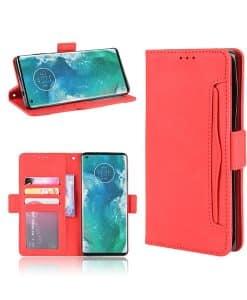 Motorola Edge Plus Wallet Leather Case