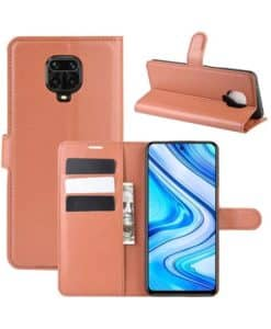 Xiaomi Redmi Note 9 Pro Wallet Leather Case