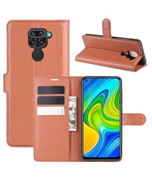Xiaomi Redmi Note 9 Wallet Leather Case