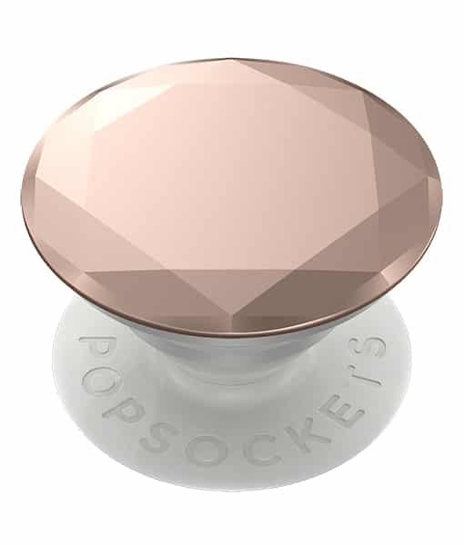 PopSockets PopGrip Metallic Diamond Rose Gold