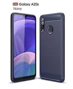 Samsung Galaxy A20s Carbon Fiber