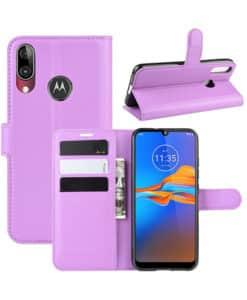 Motorola Moto E6s/ E6 Plus Wallet Leather Case