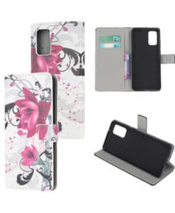 Samsung Galaxy Note20 Kuviollinen Wallet Case