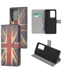 Samsung Galaxy Note20 Ultra Kuviollinen Wallet Case