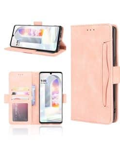 LG Velvet Wallet Leather Case
